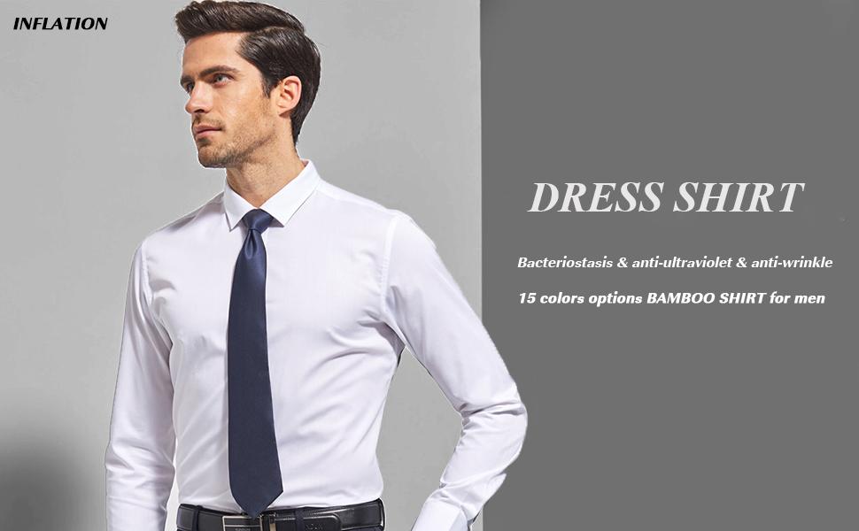 Camisa elástica Hombre, Manga Larga, Slim Fit, Casual/Formal Ambos Disponible y múltiples Colores para Elegir, Azul Agua, Cuello 42CM, Manga 89CM