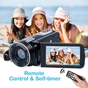 Remote Control Camcorder