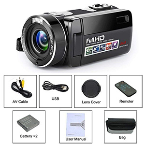 Multi-Function Camcorder