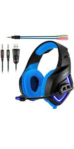 K1 Blue headset