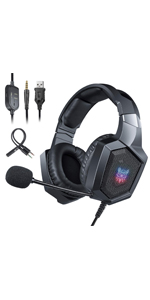 K8 RGB Headset