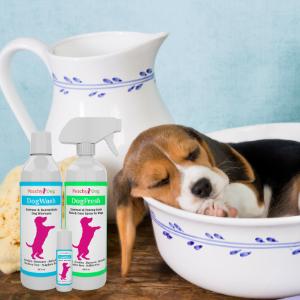 soothing dog shampoo for sensitive skin