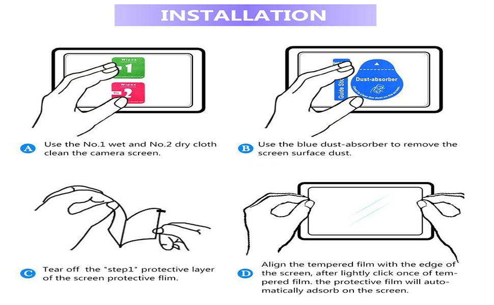 【Maxhood】1Pack Michael Kors Women's Smartwatch Sofie Tempered Glass Screen  Protector, 9H Premium Real 2 5 D Round Edge Anti-Scratch Screen