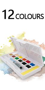 Watercolour Paint Set Pocket-Sized - Watercolour Paint Box