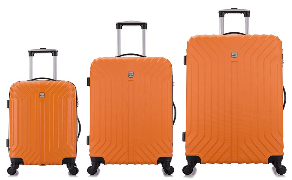 Lightweight ABS Hard Shell Suitcase Large XL 4 Wheel