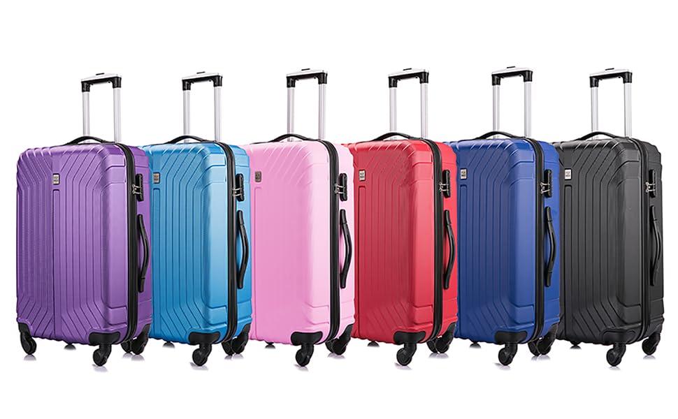 Flymax ABS Luggage Lightweight 4 wheel large xl worlds lightest