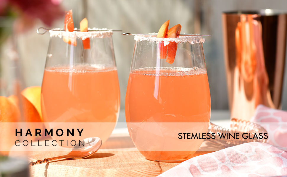 Krosno drinking wine glasses