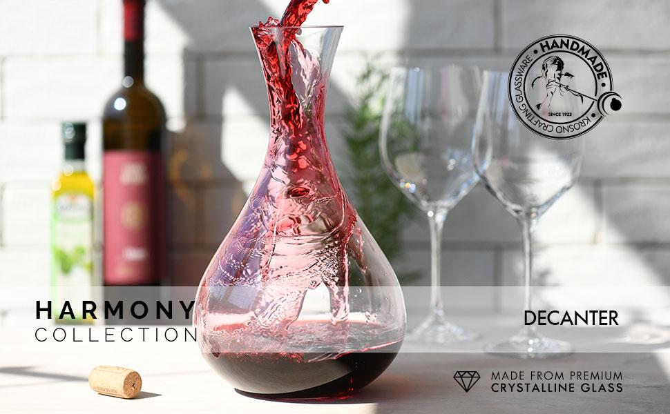 krosno Red wine decanter Glass