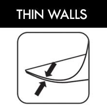 Thin Krosno glass