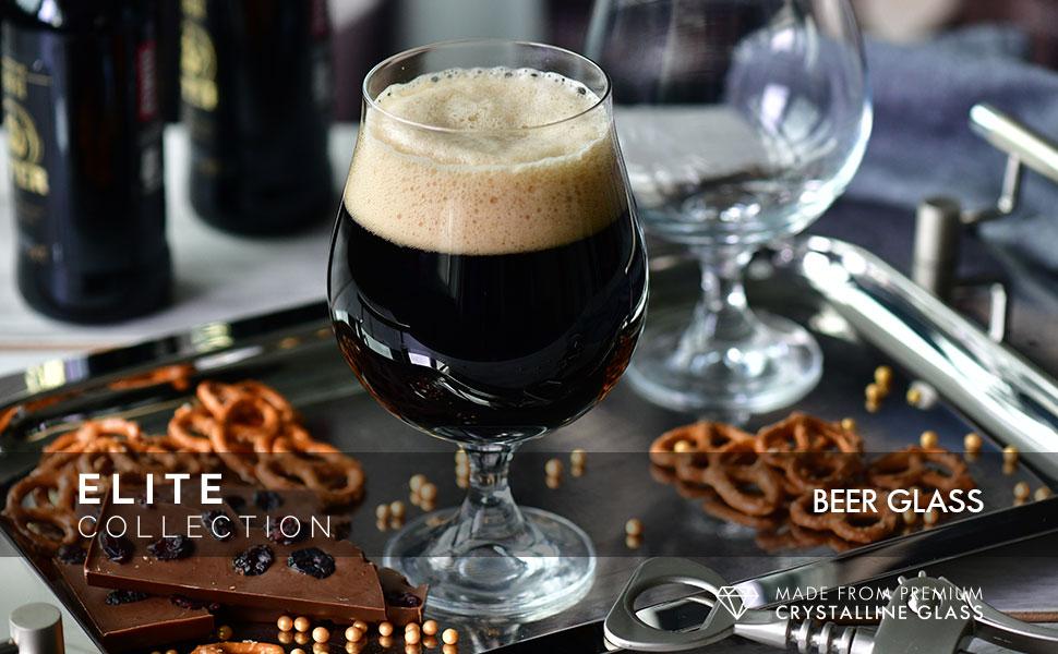 Elite beer glasses colelction