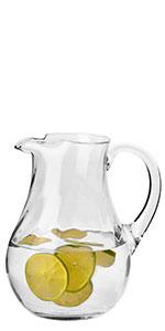 Water Glass Jug
