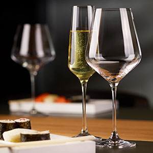 eleganta vinglas avant garde samling