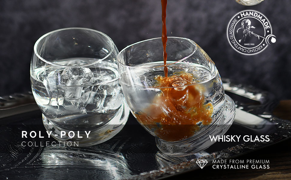Roly Poly Whisky Glasses Colelction