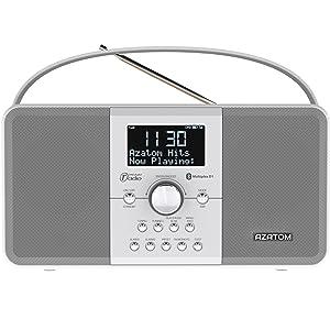 azatom advancing audio technology dab radio