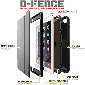 ipad 6 case composition;ipad 6 tough case;new ipad strong case