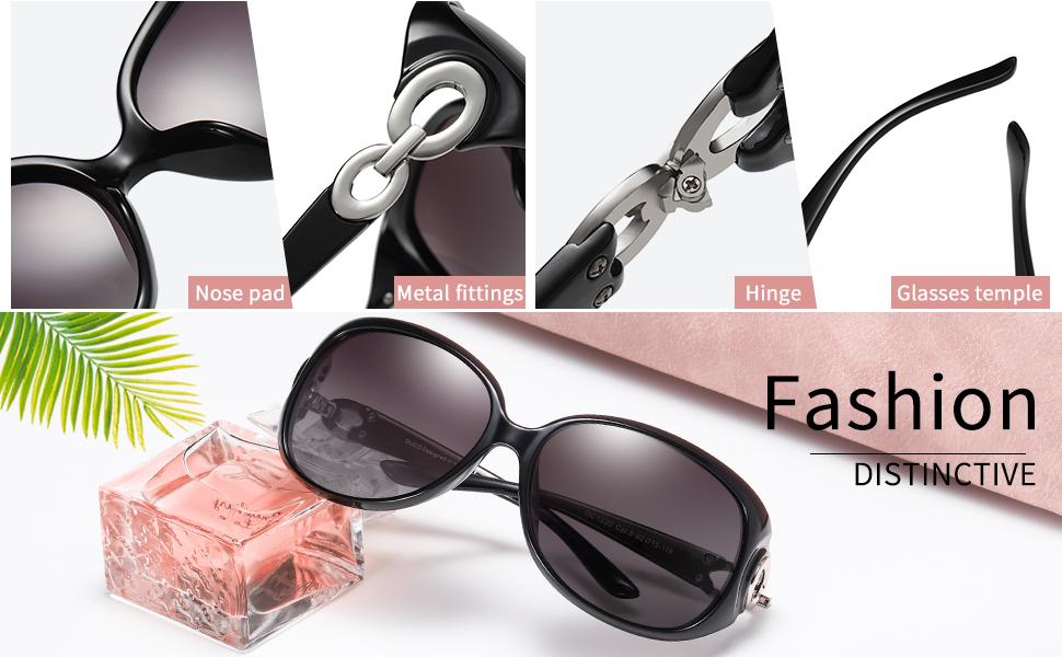 d752016c3d DUCO Women s Classic Star Polarised Sunglasses 100% UV Protection ...