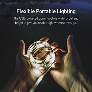 flexible portable lighting