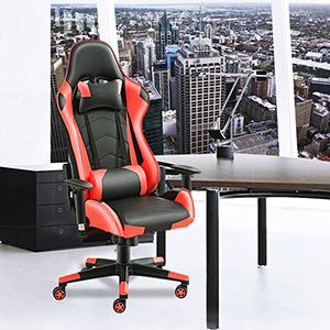jeffordoutlet Computer Desk Office Desk,2-Tire Folding Computer Laptop PC Desk for Workstation,Office,Study Room Black