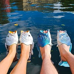 91ef57ba932 fish shoes coddies fish flops fish slippers fish flip flops fish sandals  pool shoes beach shoes