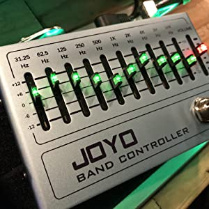 Joyo R-12 Band Controller 10 Band EQ Pedal