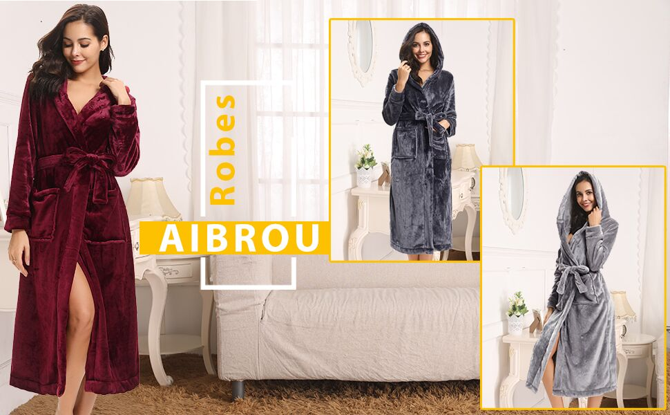 e1c6beefa7 Aibrou Dressing Gown