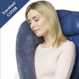 Travelrest pillow cover memory foam cover ultimate travel pillow