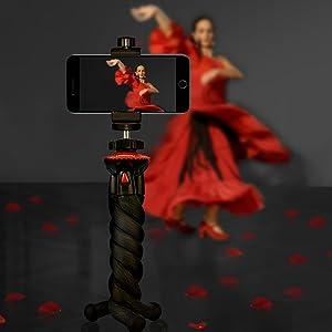 lammcou flexible tripod mini travel camera tripod iphone xs tripod huawei pro 20 tripod mount