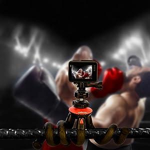gopro hero tripod action camera mini tripod mount holder gorillapod tripod mount