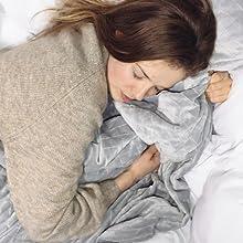 gravity blanket sleep