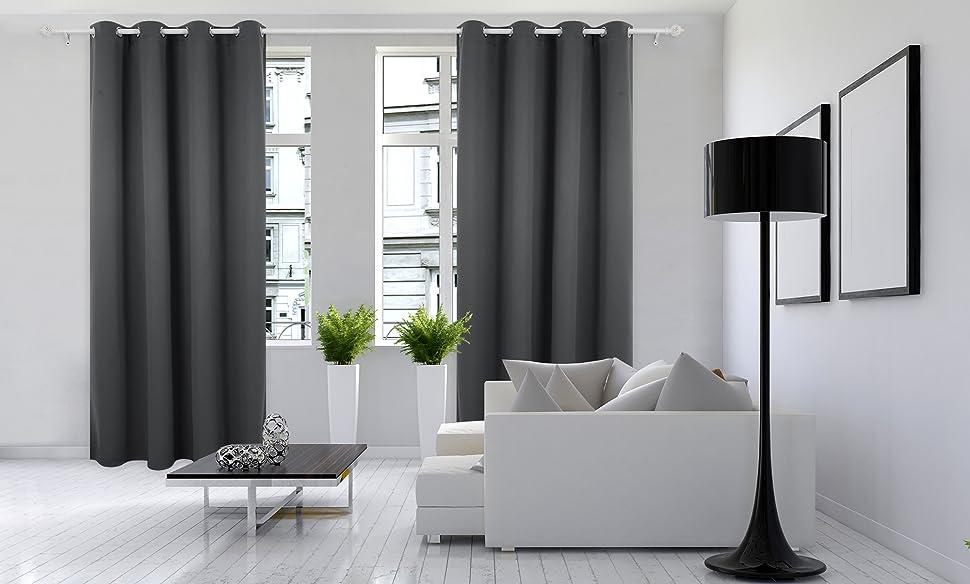 Blackout Curtains Deconovo Home Fashion Creativeness Diverse Functionality