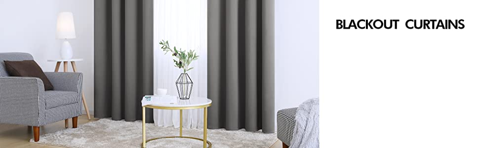 blackout curtains for living room bedroom