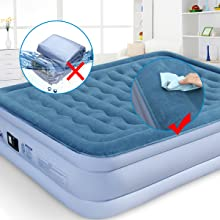 INFLATAVLE BED