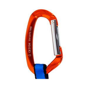 Quickpack Climbing Equipment with Bent Gate and Straight Gate Carabiners NewDoar Climbing Carabiner Quickdraw