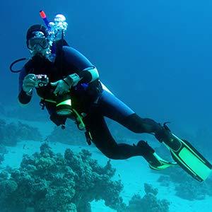 Waterproof up to 30 meters