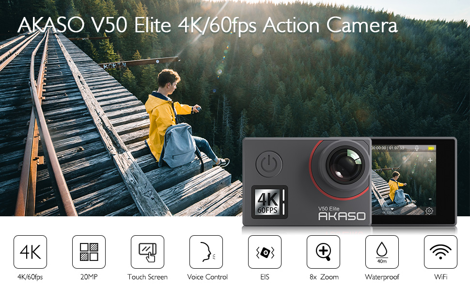 v50 елитна екшън камера