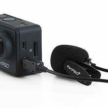 acton camera with microphone