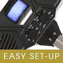 Easy Set Control Dials