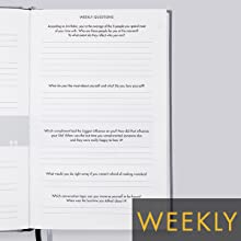 Weekly 5 questions weekly routine The 6-Minute Diary