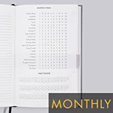 Monthly Routine The 6-Minute Diary monthly check habit tracker habit-tracker