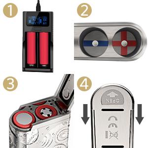 Vaporesso juul innokin nano 120W electronic cigarettes e cigarettes starter kit box mod vaporesso