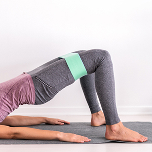 resistance band for let and butt