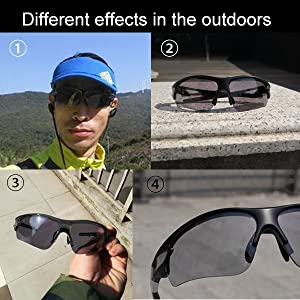 cb71fc0654 ROCKBROS Photochromic Cycling glasses Mens Outdoor Sports Sunglasses ...
