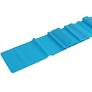 blue exercise band