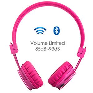 c4ce1473abe Volume Limited Wireless Bluetooth Kids Headphones: Amazon.co.uk ...