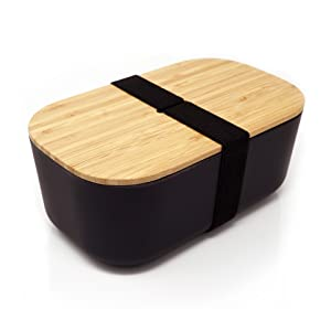 The Bamboo Box By Yuvo Made From Real Bamboo Lunch Box Bento Box
