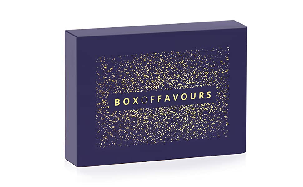 Box Of Favours The Ultimate Gift for him or her valentines Christmas Present Stocking Filler