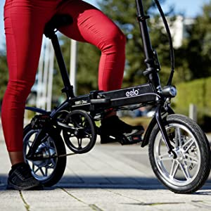 eelo 1885 disc folding electric bike ebike