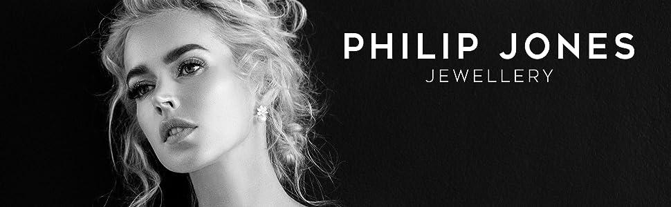 Philip Jones Jewellery, Swarovski, Crystal, Earrings, Bracelets, Necklaces, CZ