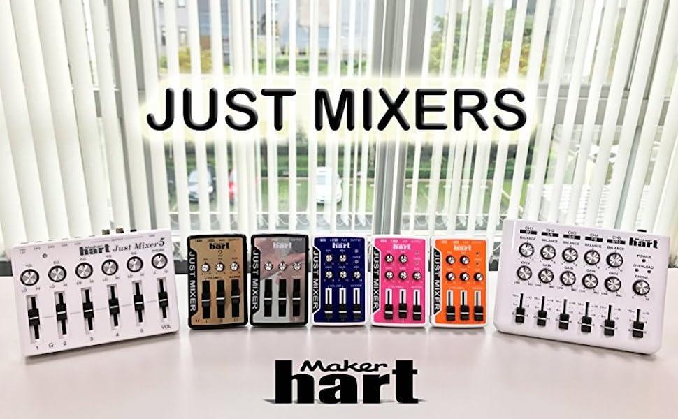 Maker Hart Just Mixers family photo