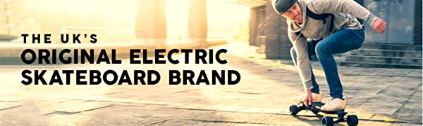 The uk's original electric skateboard brand